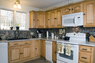 Remodeled kitchen in Bangor, Maine